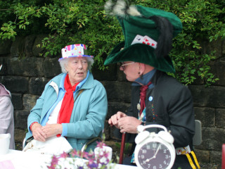 A Jubilee Mad Hatter's Tea Party